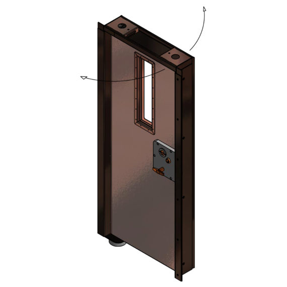 SE Safe Guard Pivot Door