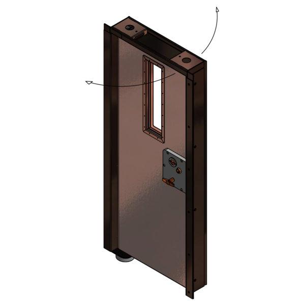 SE Safe Guard Pivot Door