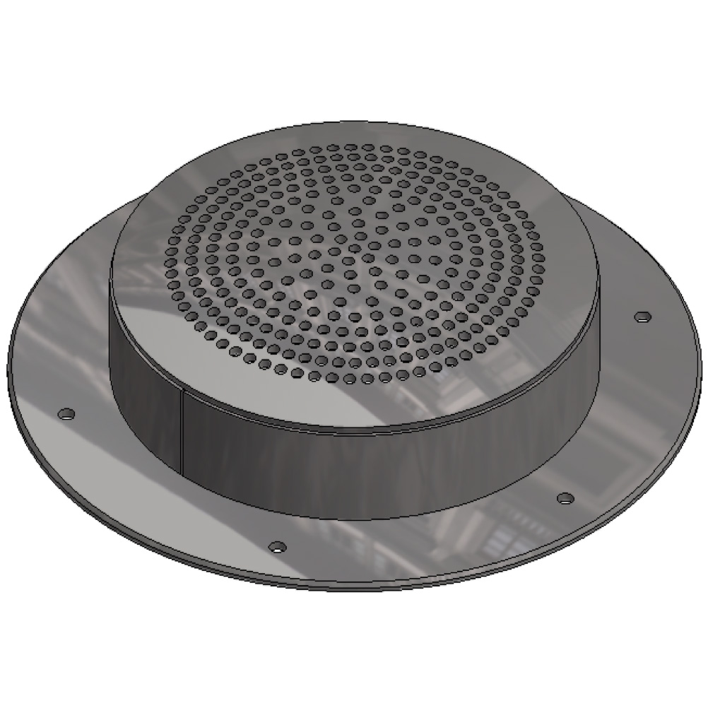 Smoke detector cover
