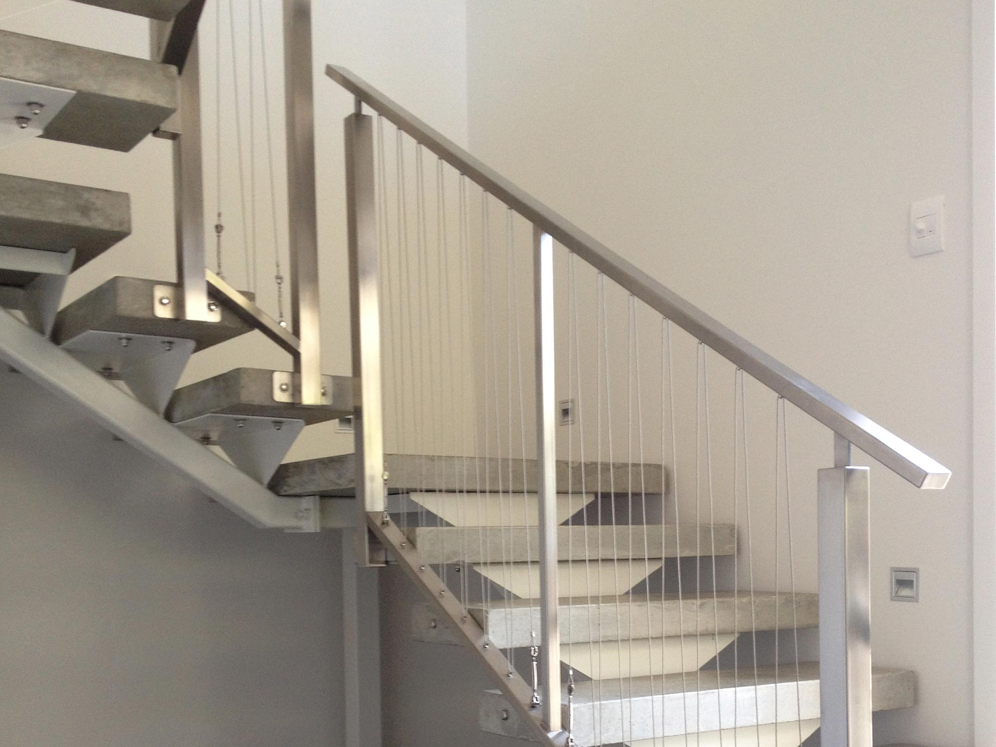 hand rails for glenn waimarama house staircase