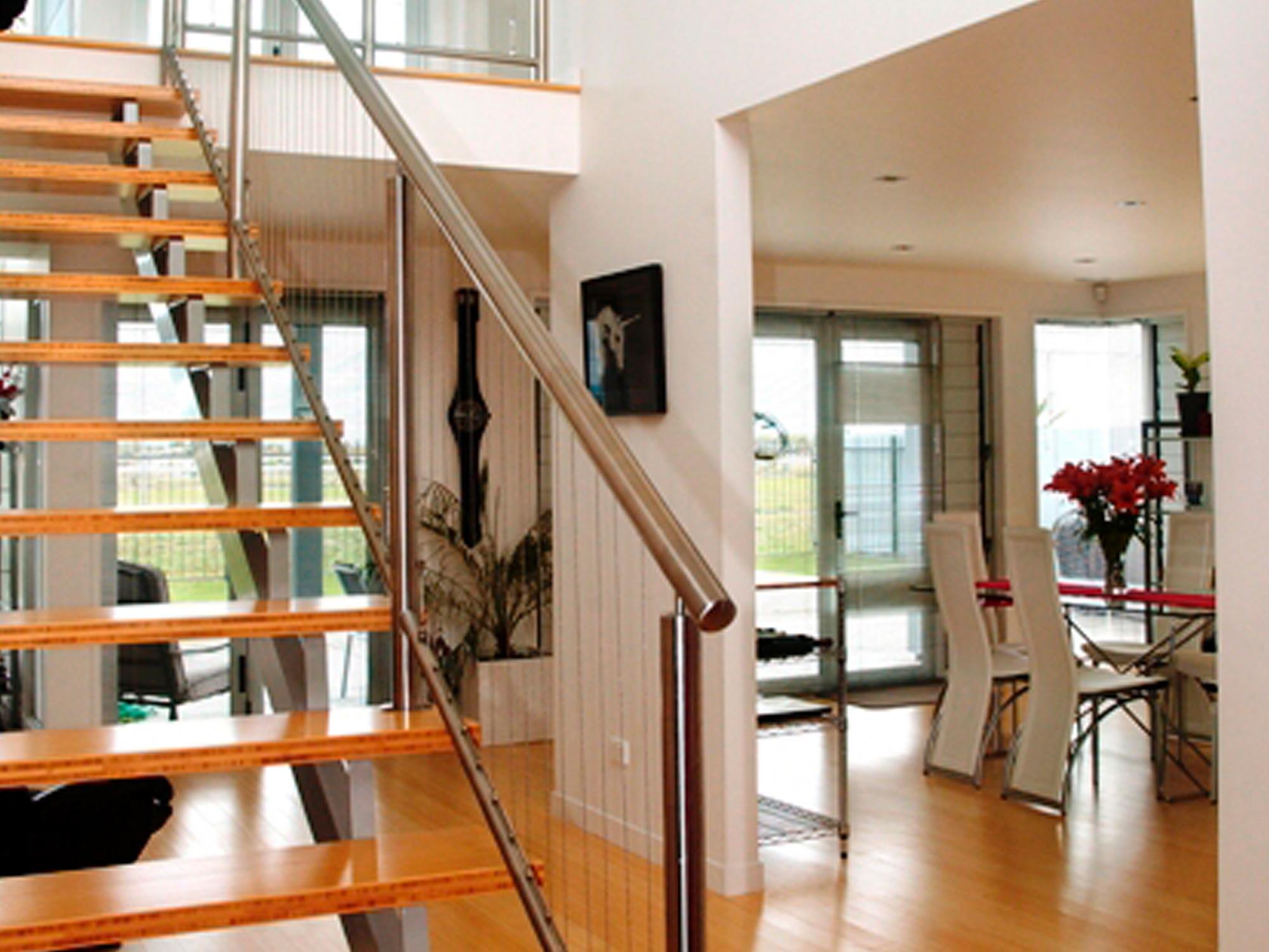 market street bottom staircase handrail