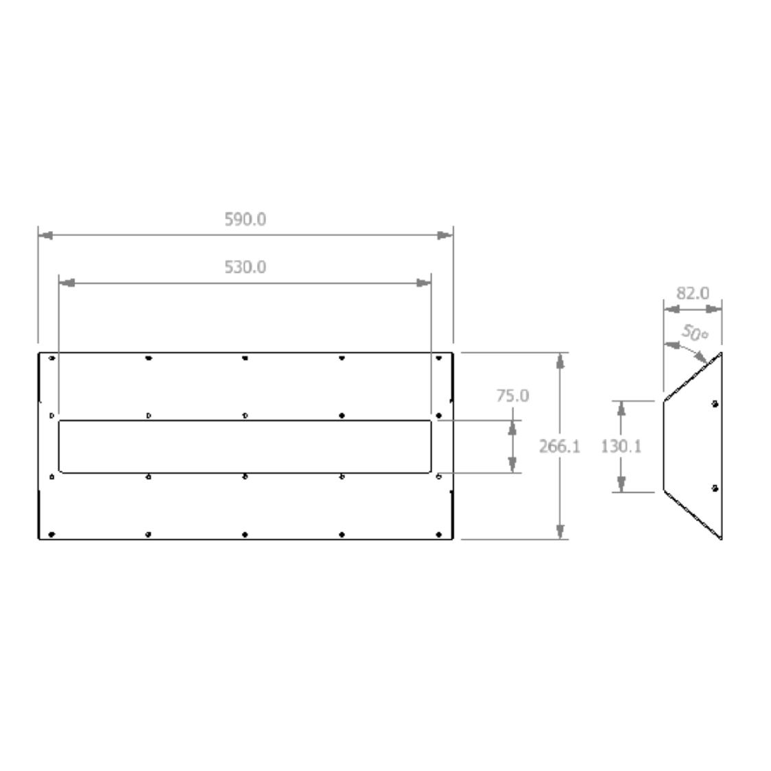 dura-lite-600 surface measurements