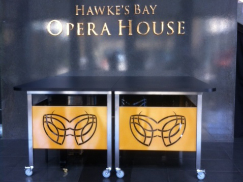 opera house front desk